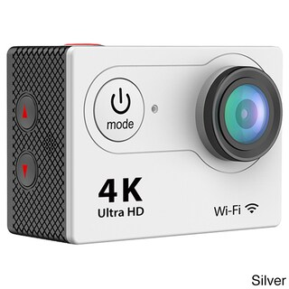 iPM 4K Waterproof 12-megapixel Ultra-HD Action Camera With WiFi (Option: Silver)