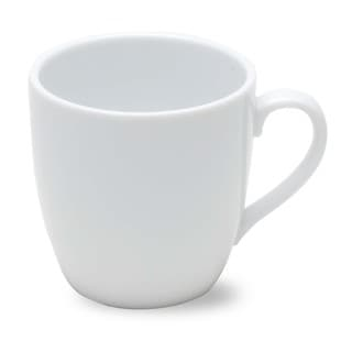 TAG Whiteware Curved Cappuccino Mug (Set of 4)
