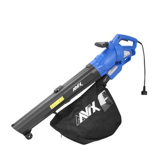 AAVIX AGT309 12 Amp All-in-One Blower/Mulcher/Vacuum 6-speed Electric Blower