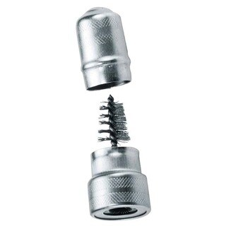Custom Accessories 45552 Metal Battery Brush