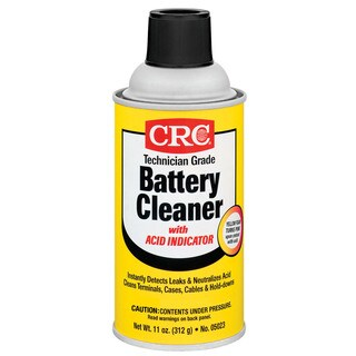 CRC 05023 11 Oz Battery Cleaner With Acid Indicator