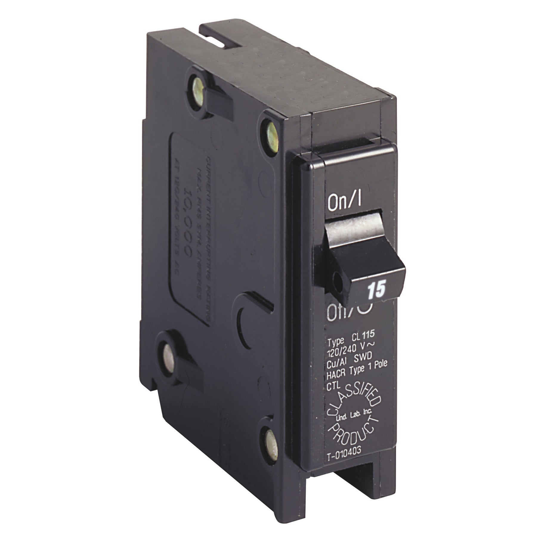 Eaton HomeLine Single Pole 15 amps Circuit Breaker (Other...