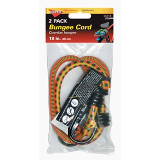 Keeper 06018 18-inch Bungee Stretch Cords 2 Pack