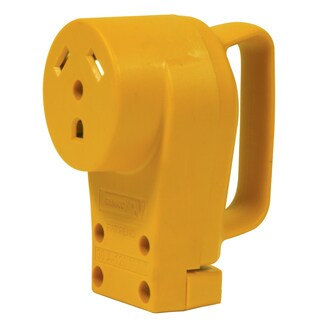 Camco 55343 30 Amp Female Power Grip Replacement Receptacle