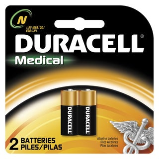 Duracell MN9100B2PK04 1.5 Volt Alakline Duracell Medical N Batteries 2-count