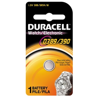Duracell D389/390PK08 1.5 Volt Duracell D389/390 Watch & Electronics Battery