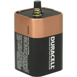 Duracell MN908 6 Volt Alkaline Duracell Coppertop Lantern Battery