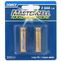 Dorcy 41-1623 AAA Mastercell Alkaline Batteries 2-count