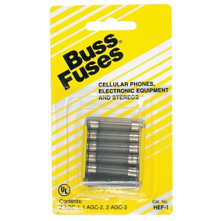 Bussman HEF-1 Electronic Fuse Assortment 250 Volt