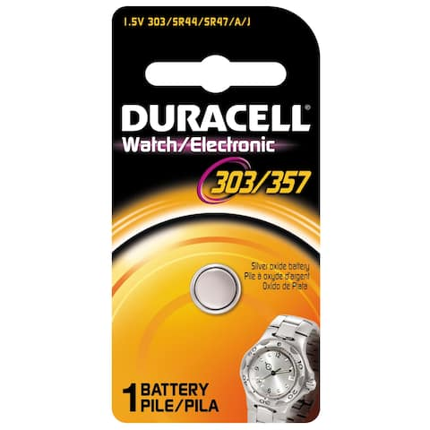 Duracell 13009 1.5 Volt Duracell 303/357 Watch & Electronics Battery