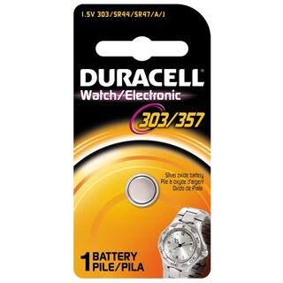 Duracell 13009 1.5 Volt Duracell 303/357 Watch & Electronics Battery