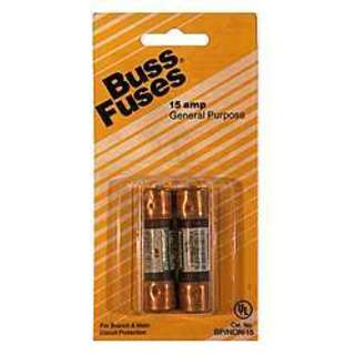 Bussman BP/NON-15 250 Volt Fuse Cartridge