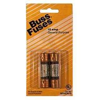 Bussman BP/NON-15 250 Volt Fuse Cartridge
