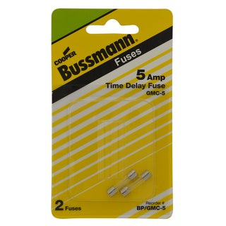 Bussman BP/GMC-5 5 Amp Medium Time Delay Electronic Fuse (Set of 2)