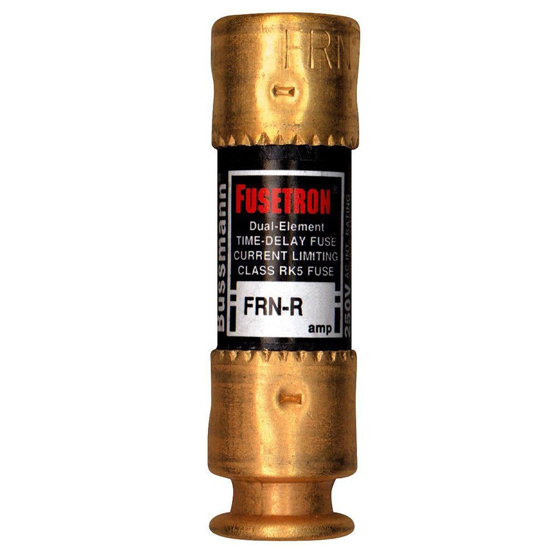 Bussmann n Dual Element Time Delay Fuse 25 amps 250 volts...