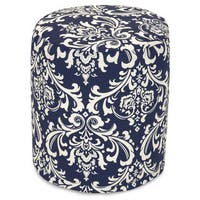 "Majestic Home Goods French Quarter Indoor / Outdoor Ottoman Pouf 16"" L x 16"" W x 17"" H"