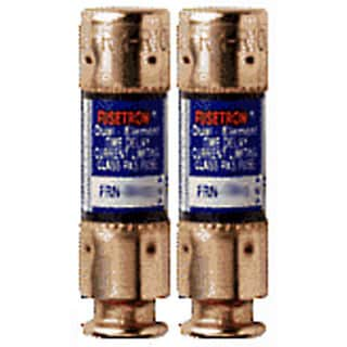 Bussman BP/FRN-R-60 60 Amp 250 Volt Time Delay Cartridge Fuses 2-count