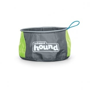 Outward Hound Medium Dog Port-A-Bowl 48oz.