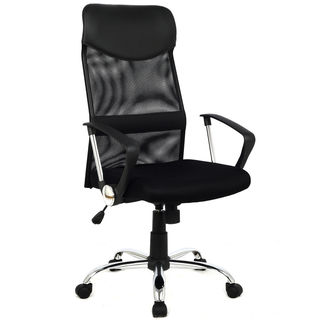 Modern Black Ergonomic Mesh High-back Executive Computer Desk Task Office Chair