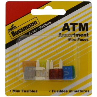 Bussman BP/ATM-AL8-RP ATM Assortment Fuse 8-count