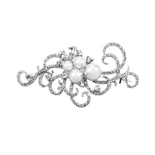 Pearl Fancy Swirl Brooch