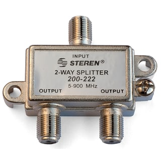 Black Point Products Inc BV-017-HD-RG6 2 Way 900 MHz RG6 F Splitter