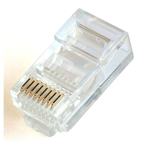 Black Point Products Inc BT-183-6PK 8X 8 RJ45 Modular Plug 6-count