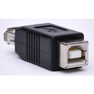 Black Point Products Inc BC-075 A-B Male-Female USB Adapter