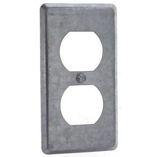 Thomas & Betts 58-C-7 Single Gang Duplex Receptacle Utility Box Cover