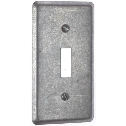 Thomas & Betts 58-C-30 Single Gang 1 Toggle Utility Box Cover