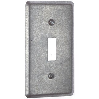 Thomas & Betts 58-C-30 Single Gang 1 Toggle Utility Box Cover