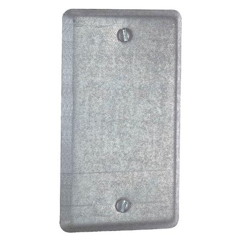 Thomas & Betts 58-C-1 Single Gang Blank Utility Box Cover