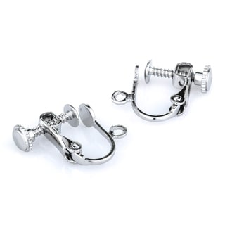 Silvertone Dangle Screwback Earring Converters
