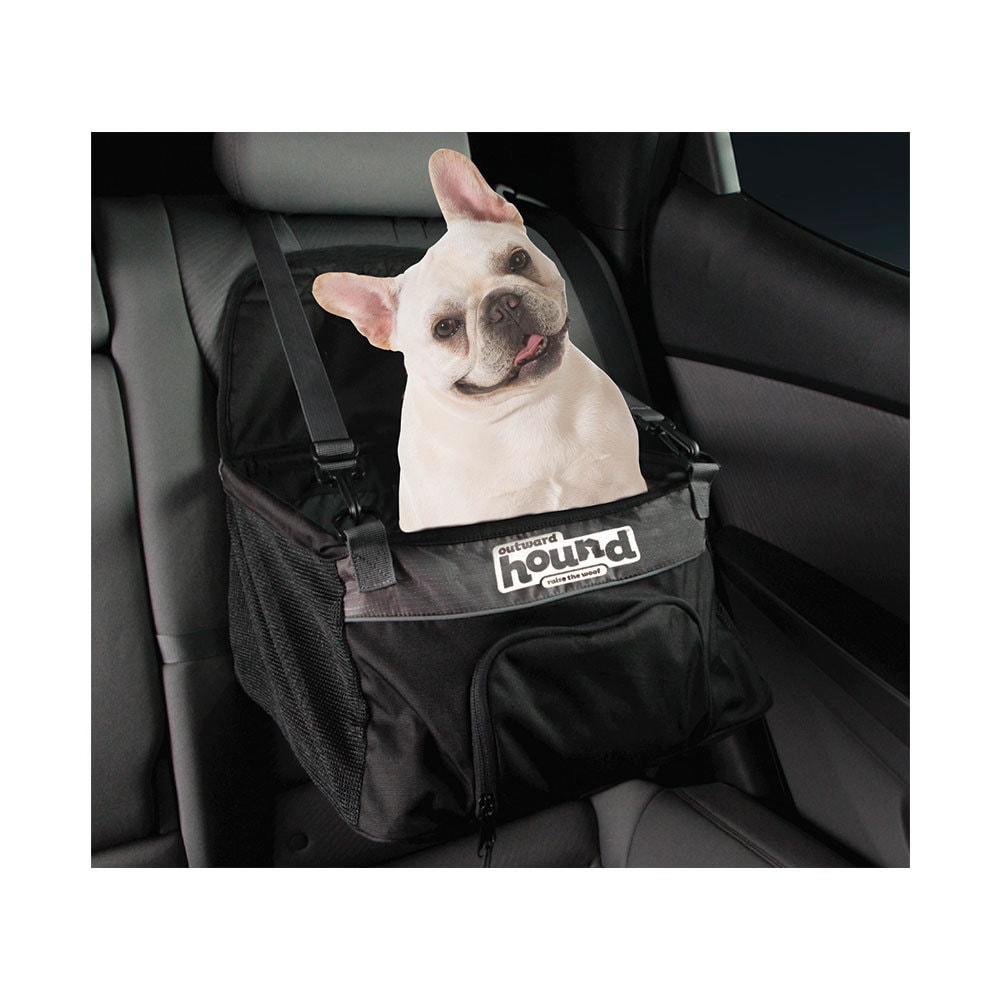 """Outward Hound Auto Small Dog Booster Seat (12.5"""" L x 12.5..."""