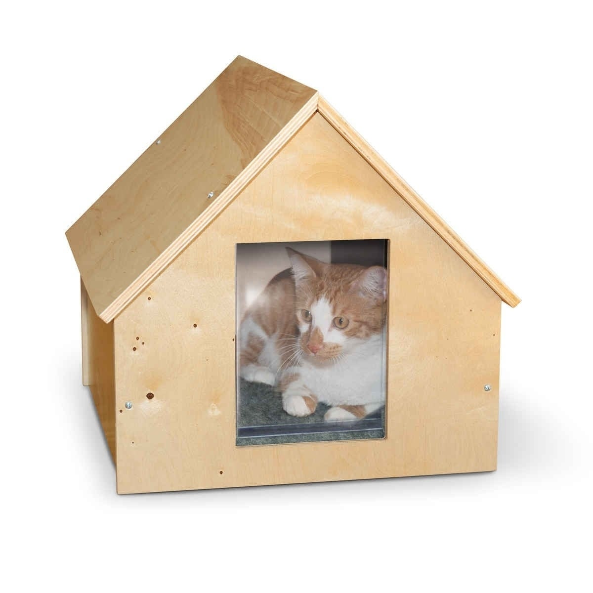 K&H Manufacturing Birdwood Manor Cat House (Heated Model)...