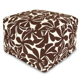 Majestic Home Goods Plantation Ottoman Outdoor Indoor