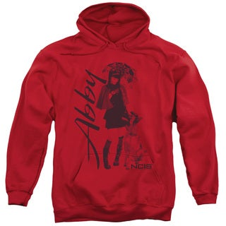 Ncis/Sunny Day Adult Pull-Over Hoodie in Red