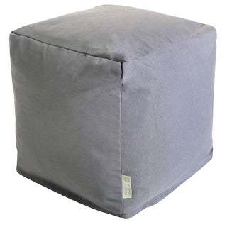 Majestic Home Goods Gray Solid Cube Outdoor Indoor