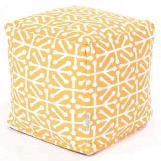 Majestic Home Goods Aruba Cube Outdoor Indoor (Option: Yellow)