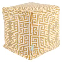 Majestic Home Goods Towers Indoor / Outdoor Ottoman Pouf Cube