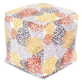 Majestic Home Goods Citrus Blooms Cube Outdoor Indoor