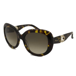 Ferragamo Women's SF727S Square Sunglasses