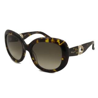 Ferragamo Women's SF727S Square Sunglasses