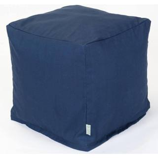 Majestic Home Goods Navy Blue Solid Cube Outdoor Indoor
