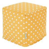 Majestic Home Goods Ikat Dot Cube Outdoor Indoor
