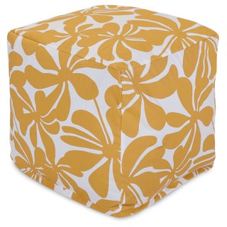 Majestic Home Goods Indoor/Outdoor Plantation Cube (Option: Yellow)