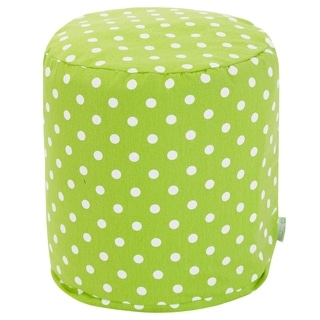 Majestic Home Goods Polka Dot Pouf