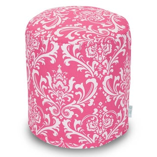 Majestic Home Goods Hot Pink French Quarter Pouf