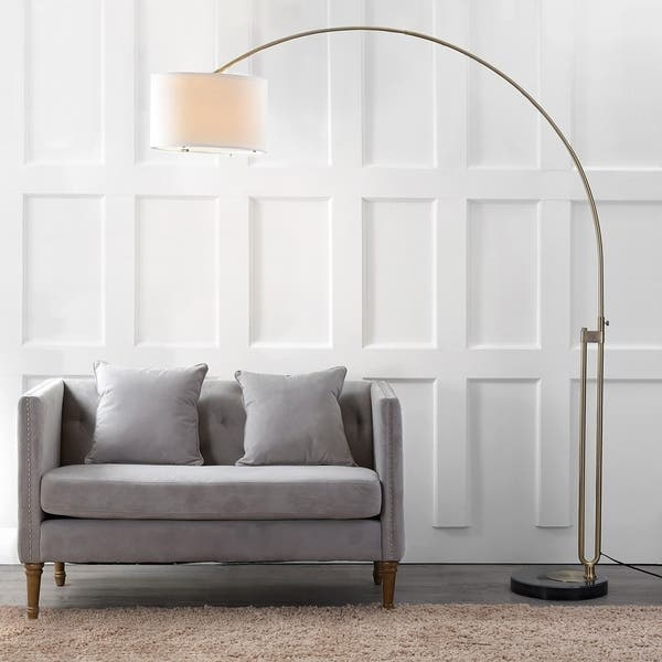 Admirable Shop Safavieh Lighting 84 Inch Polaris Arc Floor Lamp Free Ibusinesslaw Wood Chair Design Ideas Ibusinesslaworg