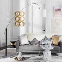 Safavieh Lighting 84-inch Lyra Arc Floor Lamp
